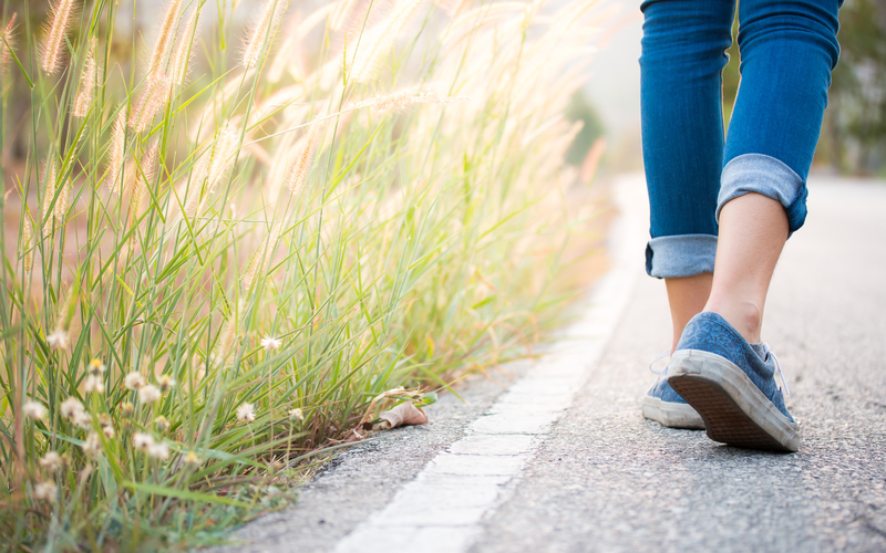 3 Strategies to Get you Walking
