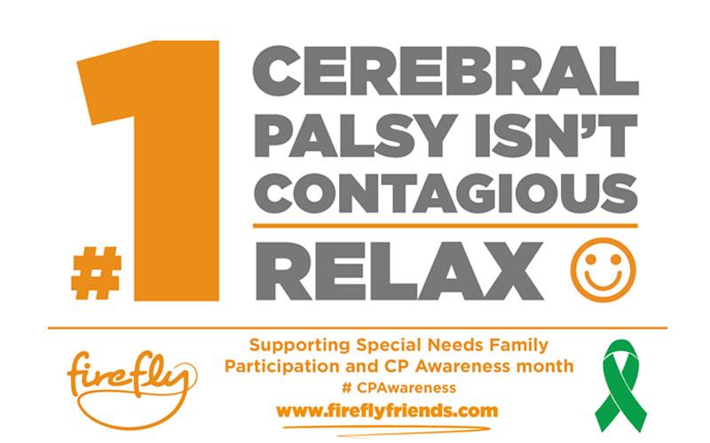 Cerebral Palsy Awareness Month - Week 1