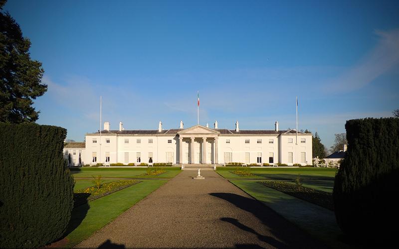 """Áras an Uachtaráin Unveils New """"Changing Places"""" Facility"""