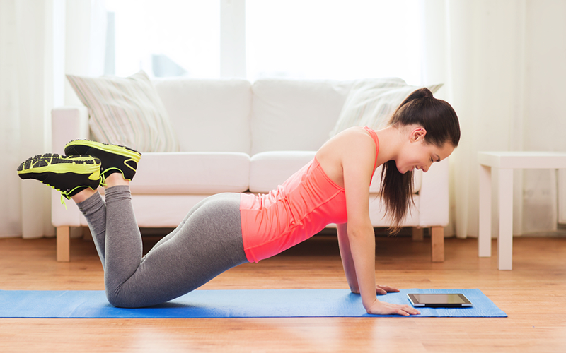 7 Ways to Get Fit in the Comfort of Your Living Room