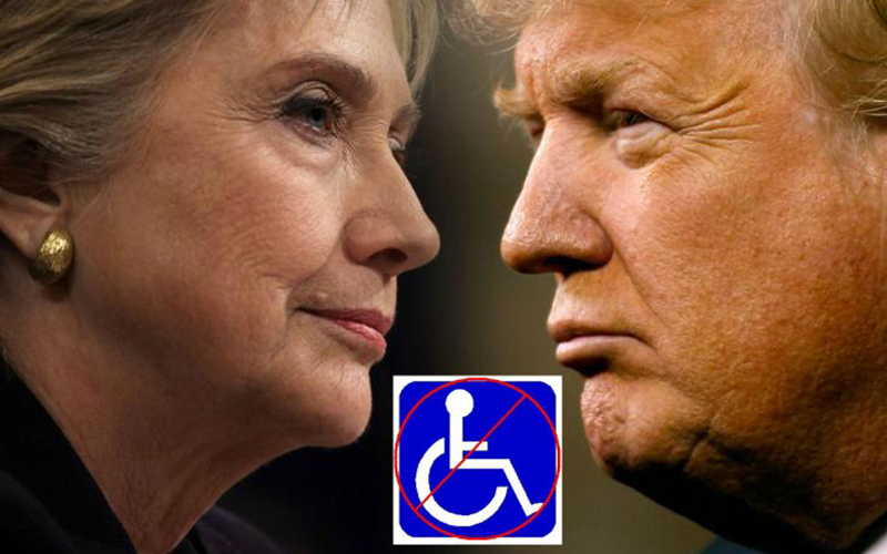 Please Quit Using the Disabled Community in Your Political Campaign!