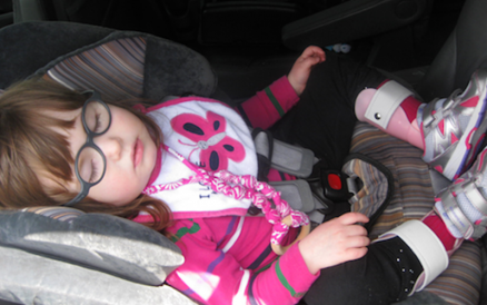 Strangers In A Parking Lot: Raising a Child with Disabilities