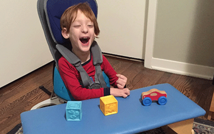 Encouraging Independence in a Child with Cerebral Palsy