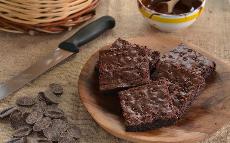 Best EVER Gluten Free & Sugar Free Almond Flour Brownies