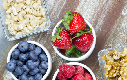 On the go? Healthy snacks to keep you going strong!