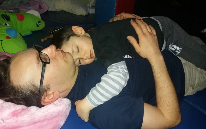 To Daddy, love Sam